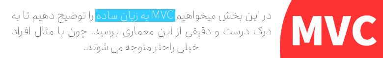 MVC به زبان ساده