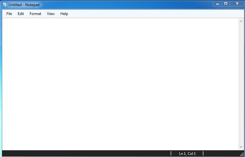 سورس کد نوت پد در ویندوز فرم