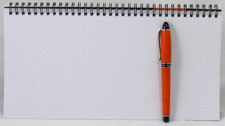 دفتر یاداشت برای وبلاگ نویسی