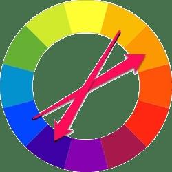 الگوی ترکیب رنگ Compound