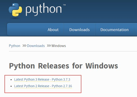 Python Releases for Windows