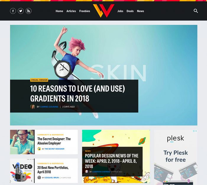 آموزش طراحی وب با سایت Web Designer Depot