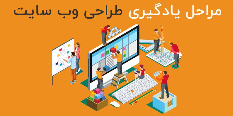 مراحل یادگیری برنامه نویسی وب