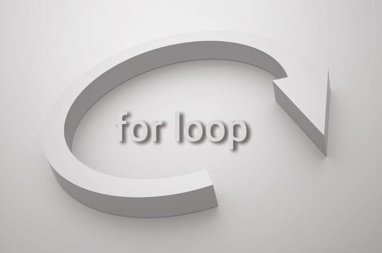 for loop چگونه از حلقه های تکرار در زبان C بهره بری و استفاده کنیم